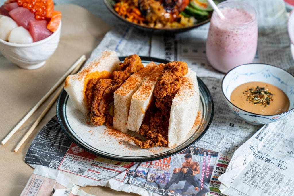 Recipe: Sandoitchi Cafe's Delicious Buttermilk Fried Chicken Sando