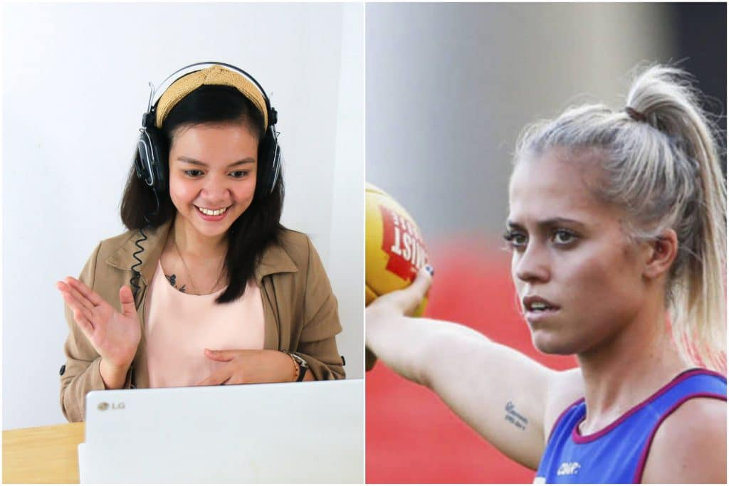 You Can Hang Out On Zoom With These AFLW Stars And Cricketer