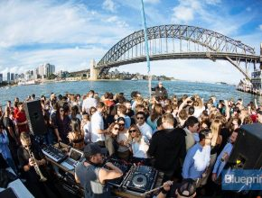 Freedom Is Cruising The Harbour And Dancing To House Music At Sunset With Your Crew