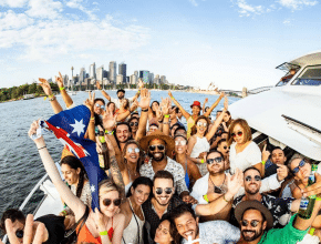 SANSOM and KRENO Are Going B2B For Tech Rebellion's First Sunday Sesh Cruise