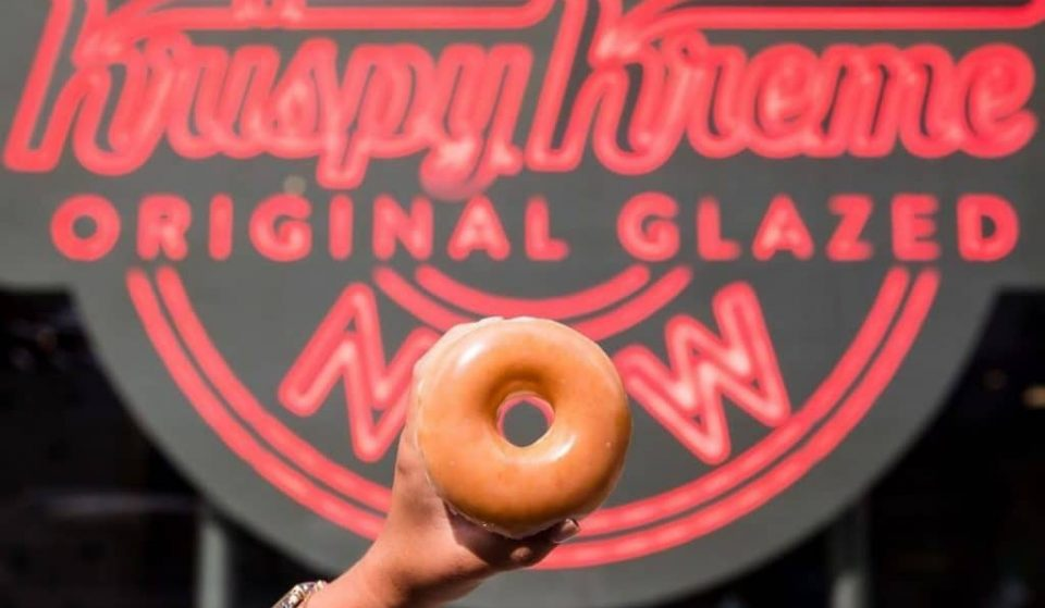 Krispy Kreme Is Giving Out Free Doughnuts To Anyone With A COVID-19 Vaccine For The Rest Of 2021
