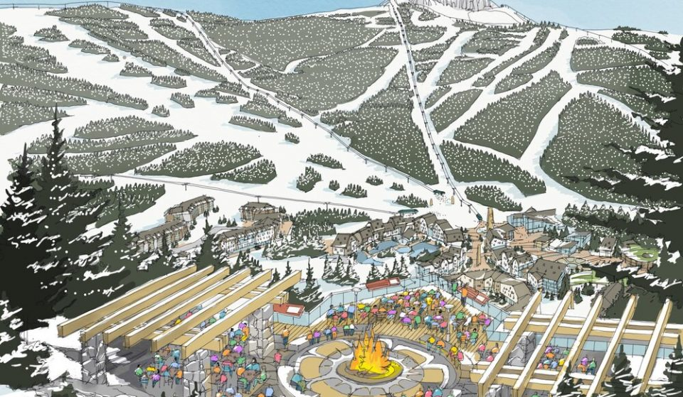 New Renderings Of The Planned Squamish Ski Resort Are Out, And It Looks Really Cozy