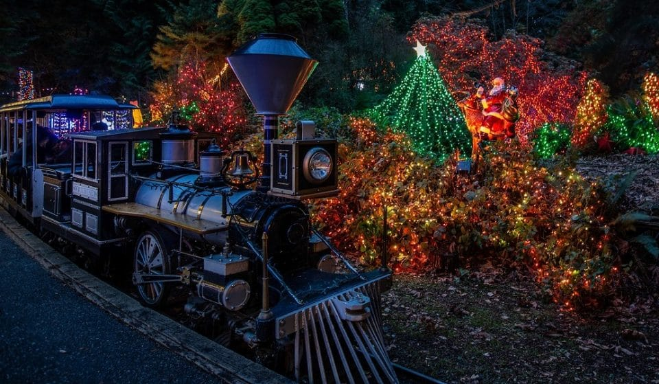 An Enchanting Christmas Train Experience Is En Route To Light Up Stanley Park This Month