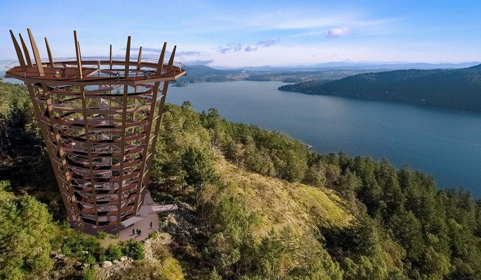 Vancouver Island's New Skywalk Attraction Is Set To Open Spring 2021 • Malahat Skywalk