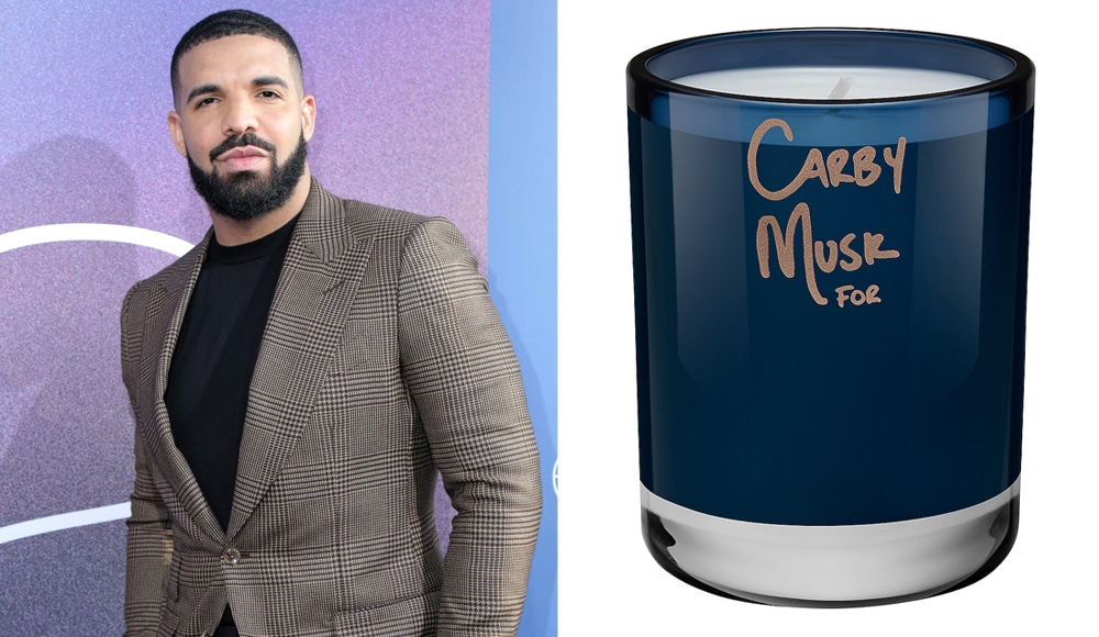 Drake Is Launching A Scented Candle Line, And One Of Them Actually Smells Like Him!