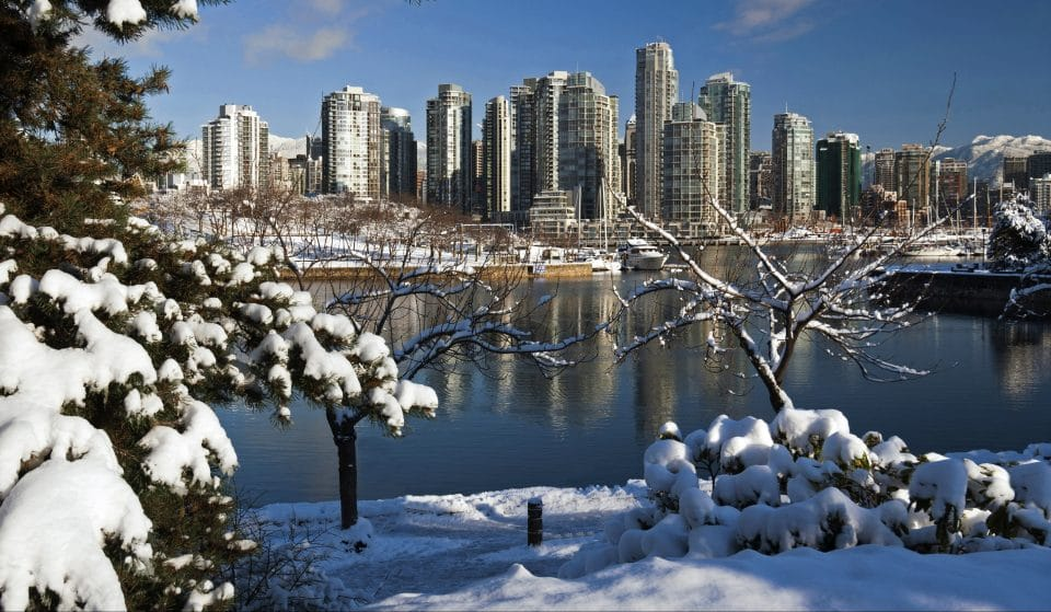 Vancouver's First Snowfall Of 2021 Is Forecasted To Arrive This Weekend