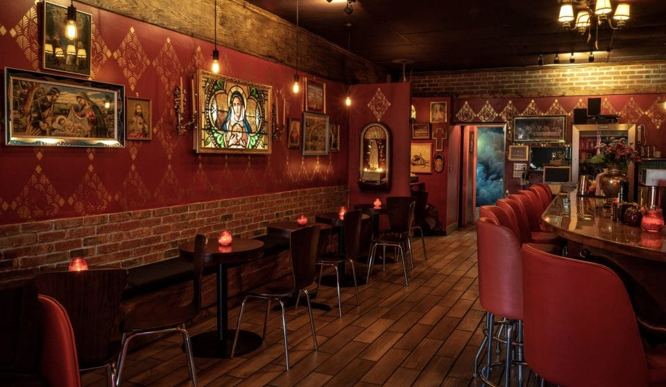 Take A Mirror Selfie With The Devil In This Cheeky Religious-Themed Bar In East Van