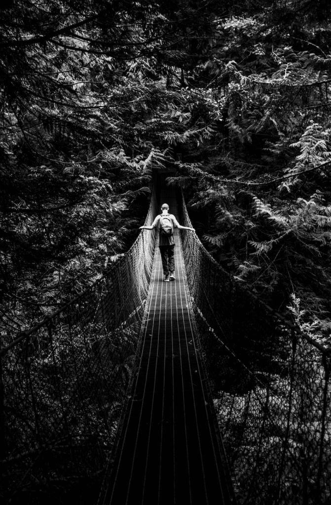 This Impressive 100 Ft Suspension Bridge Along The Juan De Fuca Traverses Some Of Best Views In The Province