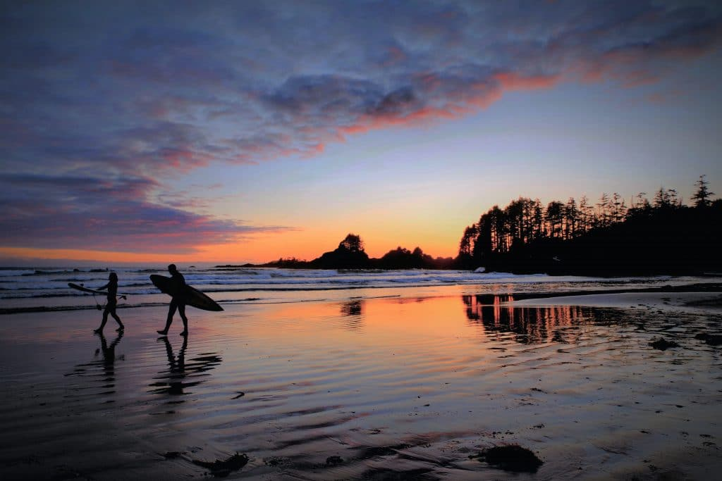 You Have To Watch The Sunset At This Stunning Beach Near Tofino