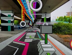 Have You Seen This Awesome Augmented Reality Installation Underneath The Cambie St Bridge Yet?