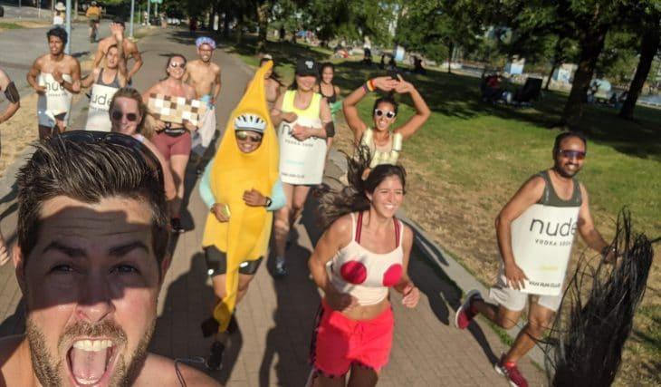 Meet Vancouver's Free Social Run Club That Actually Makes Running Fun