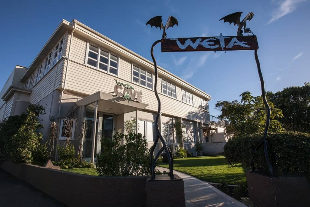 The Weta Cave In Wellington Is An Exhibition Of Props From The 'Lord Of The Rings' And Other Movies