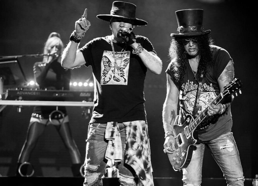 Guns 'N' Roses Announce Stadium Show In Wellington For 2021