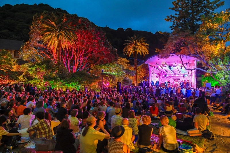 Wellington Botanic Gardens Is Hosting Three Weeks Of Wonderful Free Concerts • Gardens Magic 2021