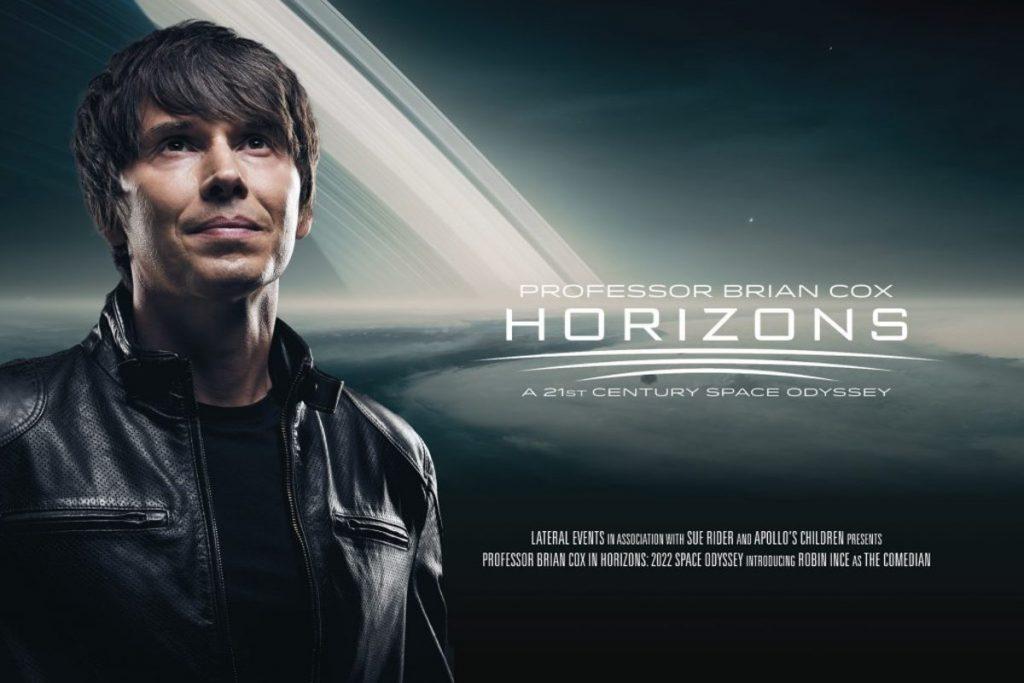 Brian Cox Horizons 2022