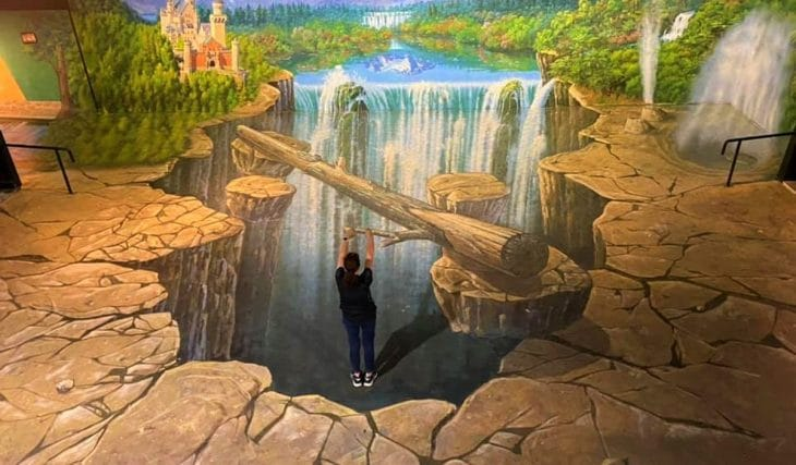 Leap Into Artwork At This Alluring 3D Trick Art Gallery In New Zealand