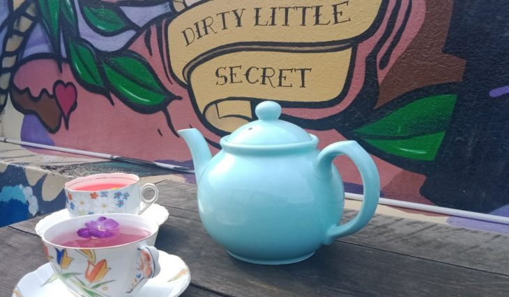 Dive Up The Rabbit Hole At This Mad Hatters Rooftop Halloween Tea Party In Wellington