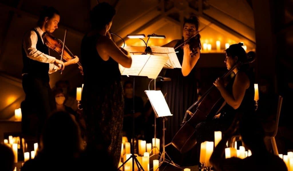 """Ein unvergesslicher Candlelight-Abend zu Vivaldis """"Vier Jahreszeiten"""""""