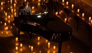 Klassische Musikkonzerte im Kerzenlicht im Kunsthaus Auditorium