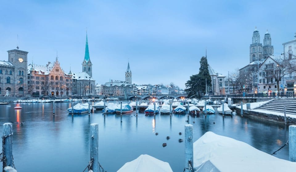 Zürich im Schnee – unsere Highlights