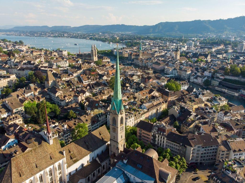 So werden die Temperaturen in Zürich im Jahr 2050 sein