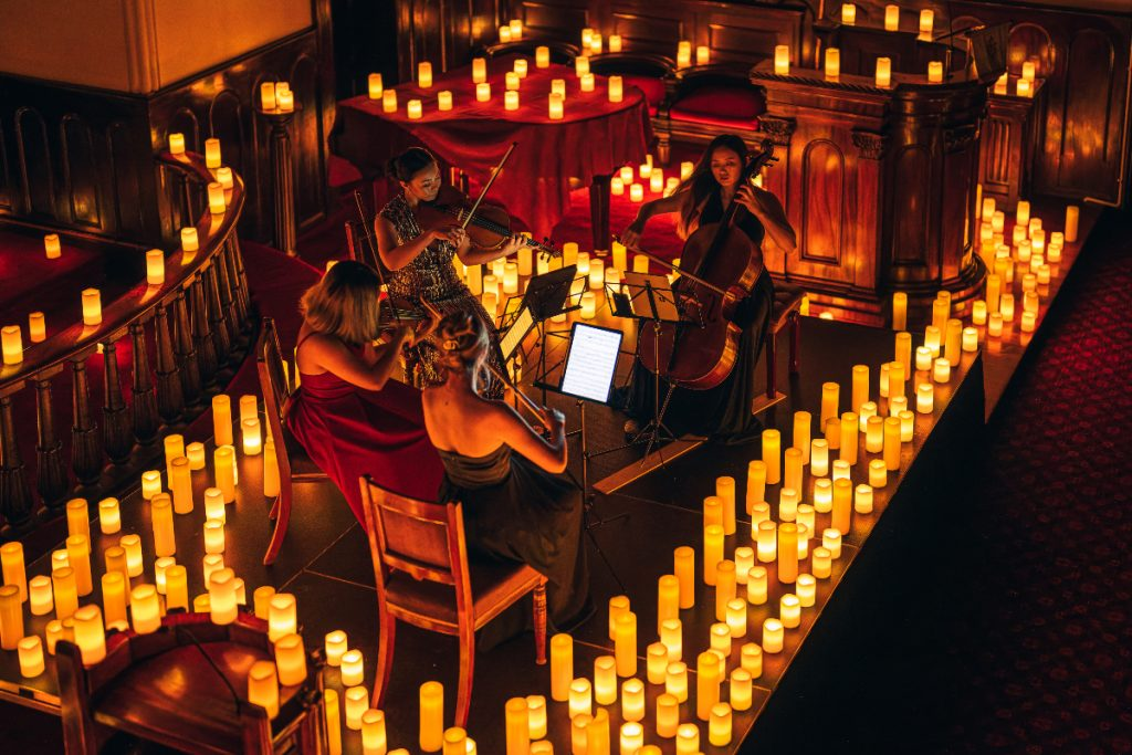 Candlelight-Konzerte im Weisser Wind