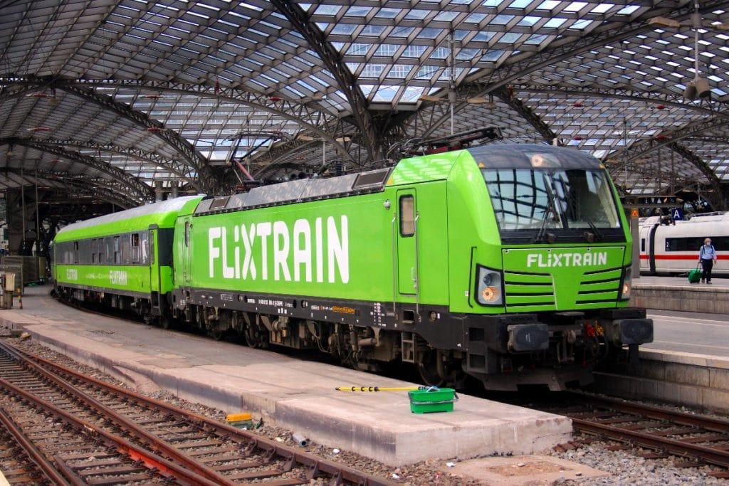 FlixTrain: low cost, öko Züge