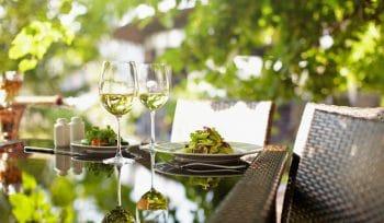 5 romantische Gartenrestaurants in Zürich