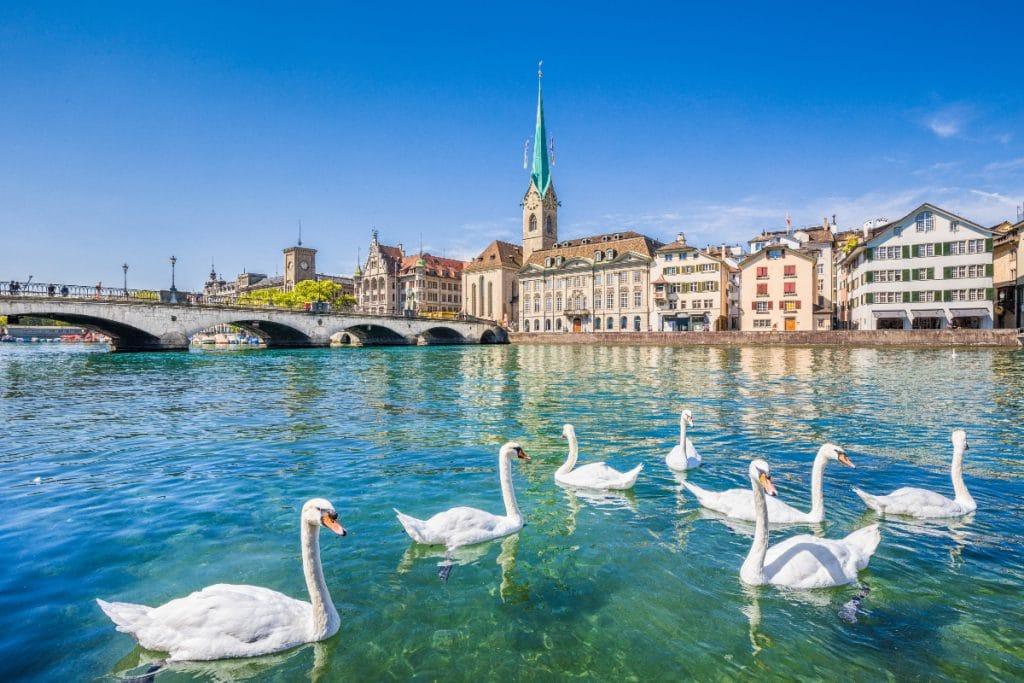 'Shadowmap': die Karte für einen heißen Sommer in Zürich