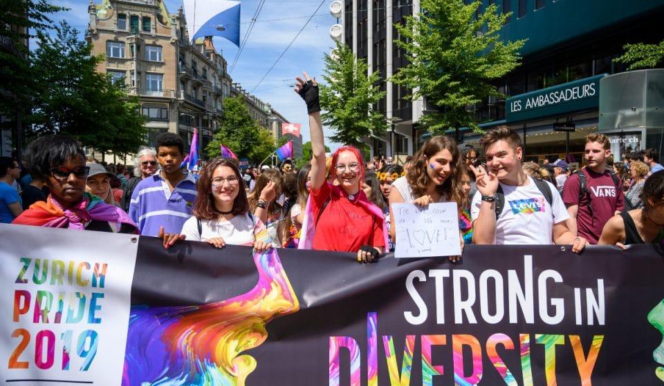 Das Zurich Pride Festival wird morgen online gefeiert