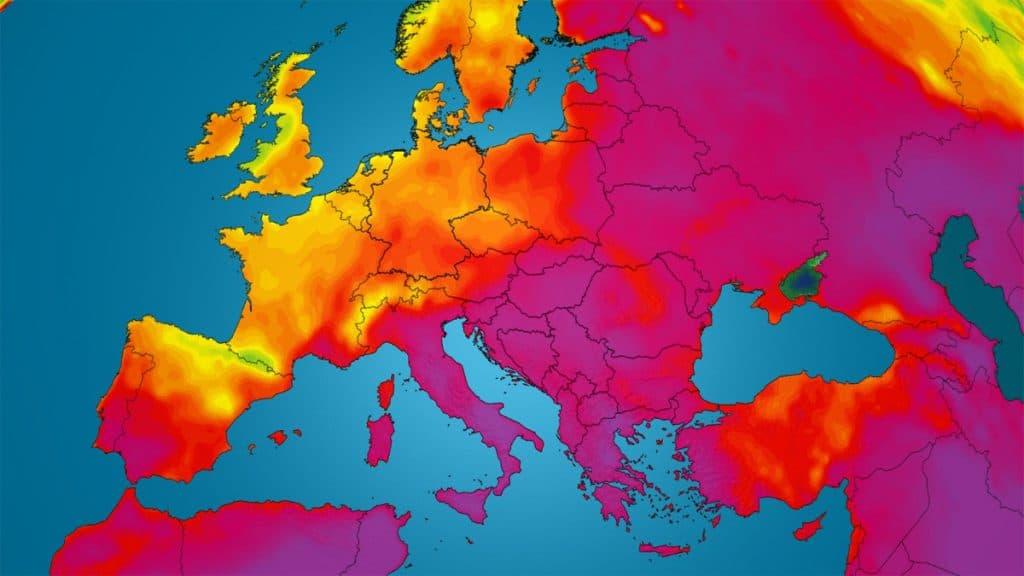 Dieser Sommer war der Heisseste in der Geschichte Europas