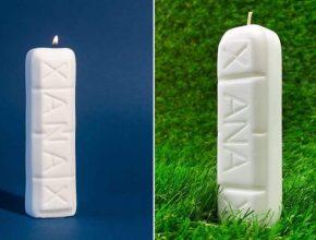 Ungewöhnlich: eine nach Xanax duftende Kerze zur Entspannung!