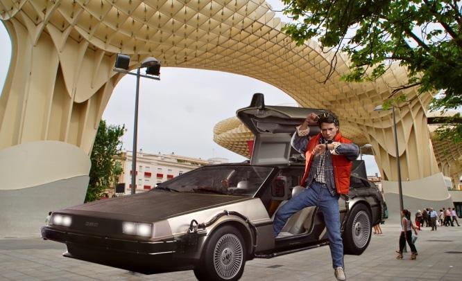 Regreso al futuro: Marty McFly en la Sevilla de 2015