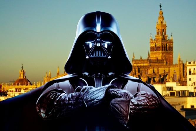 ¡Que la fuerza te acompañe miarma!: Star Wars aterriza en Sevilla