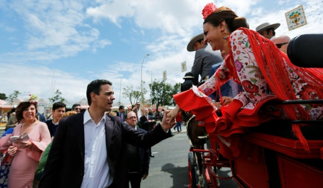 Los ricos también bailan: famosos en la Feria de Abril de Sevilla