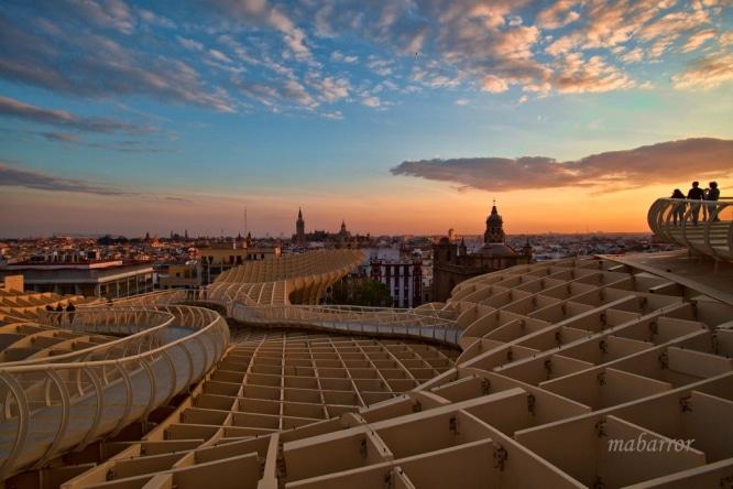 atardeceres en Sevilla
