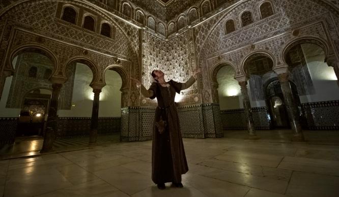 Visitas nocturnas teatralizadas al Real Alcázar