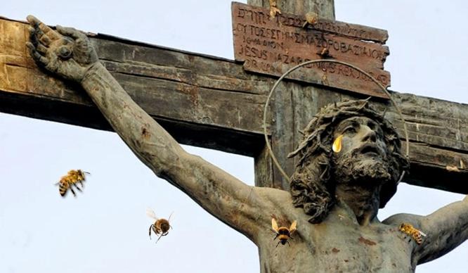 El curioso caso del Cristo sevillano que lloraba miel