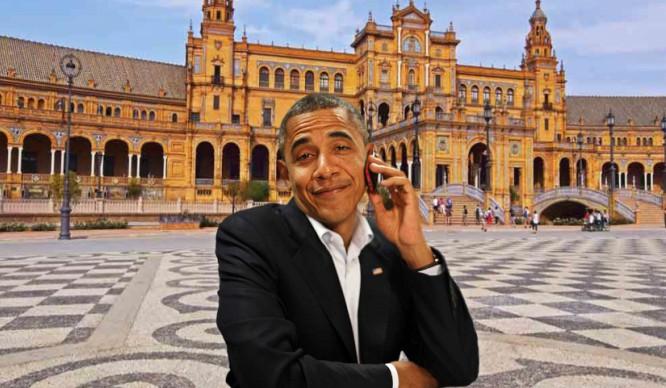 ¡Bienvenido Mister Obama! Sevilla recibirá al presidente de los EEUU
