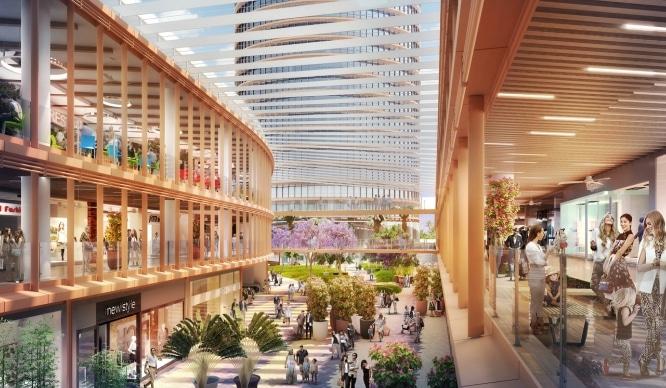 Más novedades sobre el centro comercial de Torre Sevilla