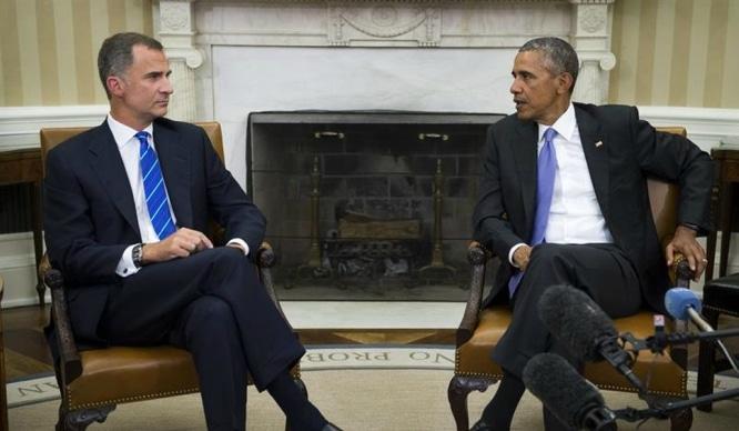 Obama y Felipe juntos de turismo por Sevilla