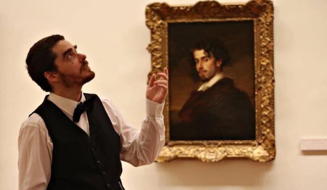 El Museo de Bellas Artes cobra vida en una ruta teatralizada