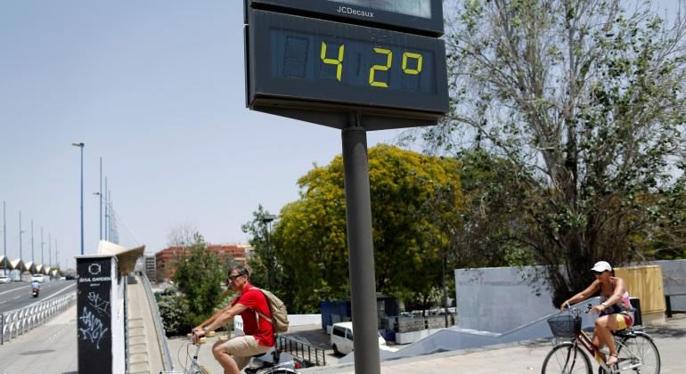 ¡Por fin bajan las temperaturas en Sevilla!