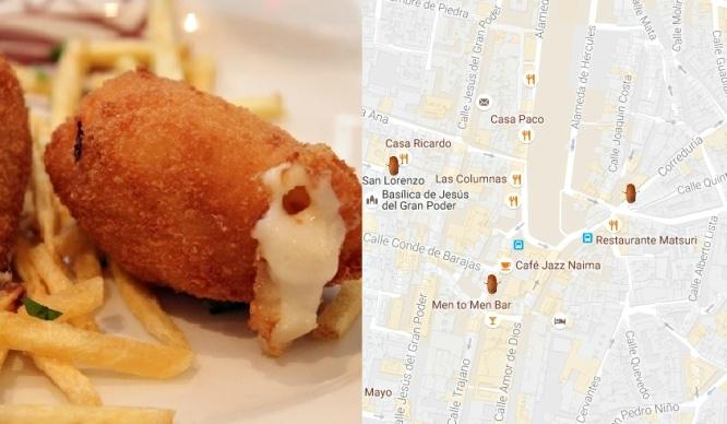 Descubre el mapa más croquetero de Sevilla