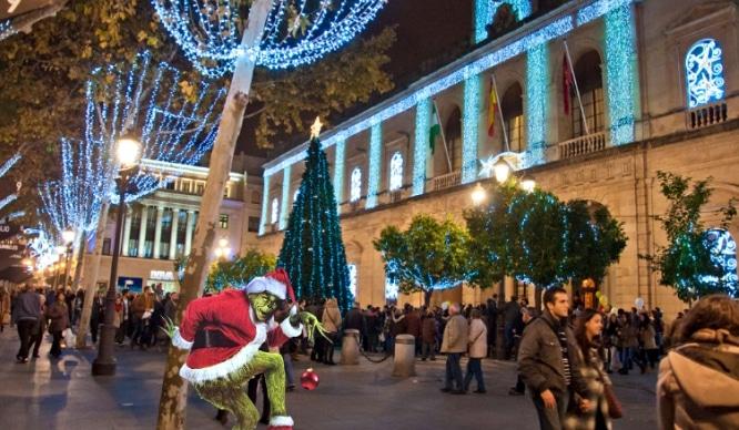 5 razones por las que el Grinch no podría odiar la Navidad en Sevilla