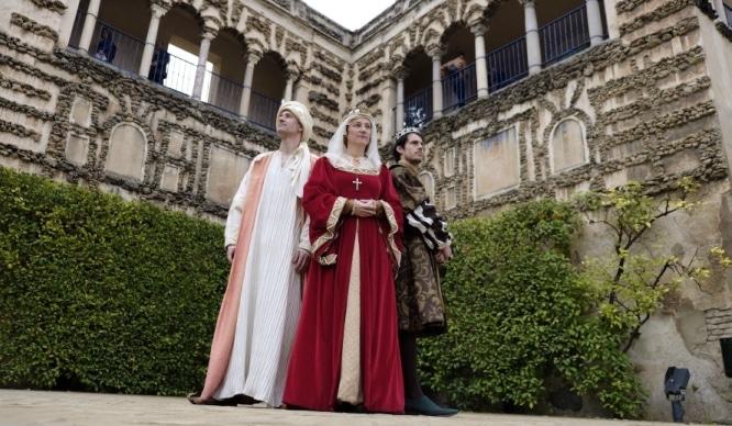 Actividades infantiles en el Real Alcázar por Navidad