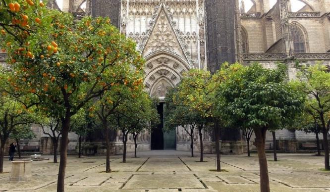 La Catedral se plantea cambiar el acceso de los turistas al Patio de los Naranjos