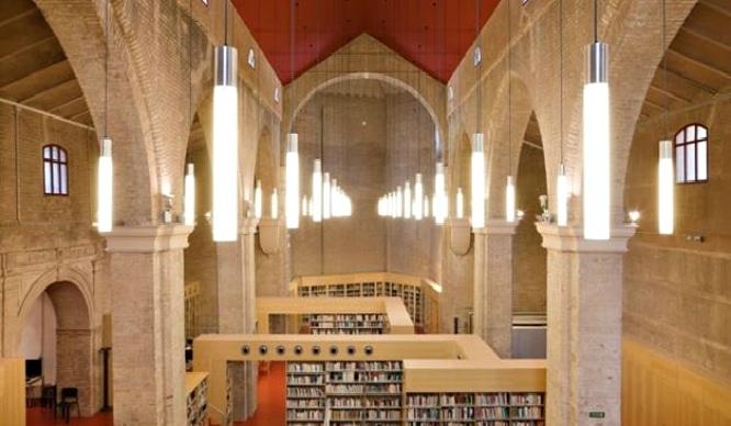 ¿Sabías que la biblioteca más mágica de Andalucía está en Sevilla y es una iglesia?
