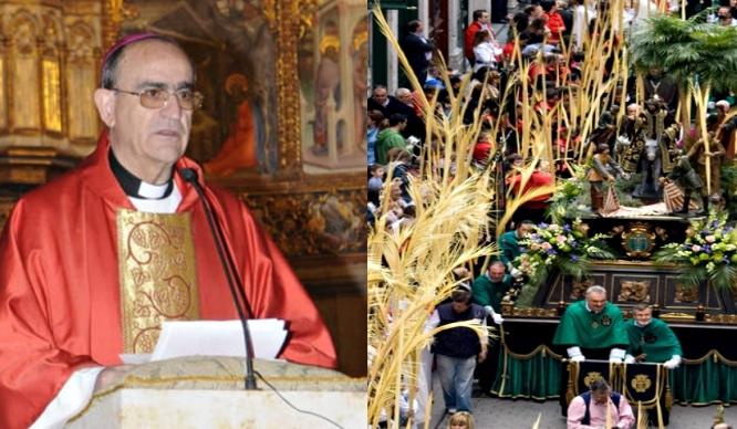El obispo de Salamanca quiere acabar con el andaluz en las procesiones porque le suena mal