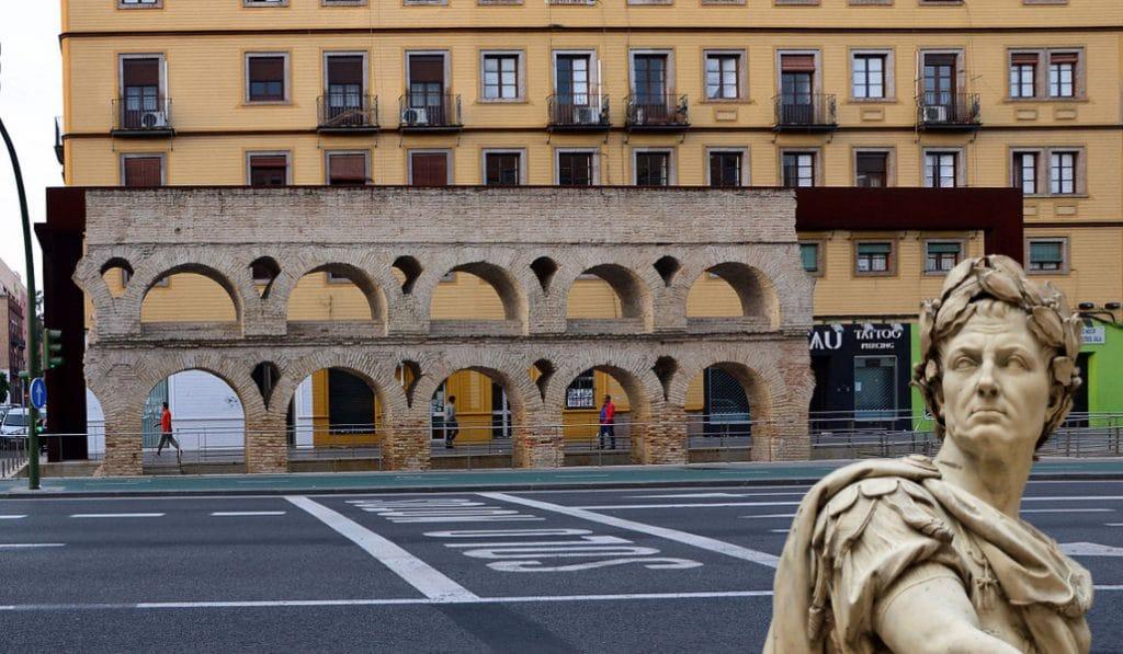 El acueducto de Sevilla: vestigios del imperio romano